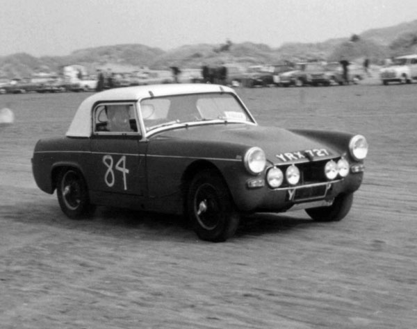 Have mg midget rally car are